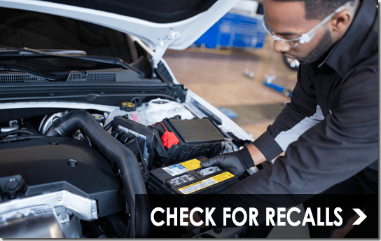 Check for GM Recalls