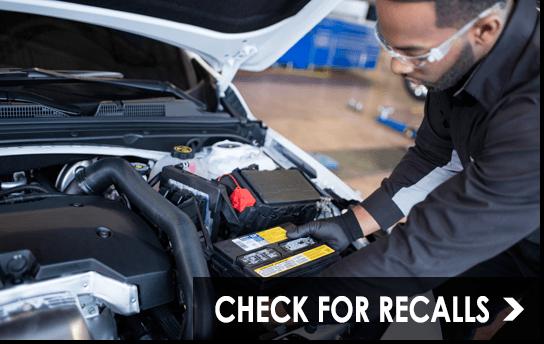 Check for GM Recalls
