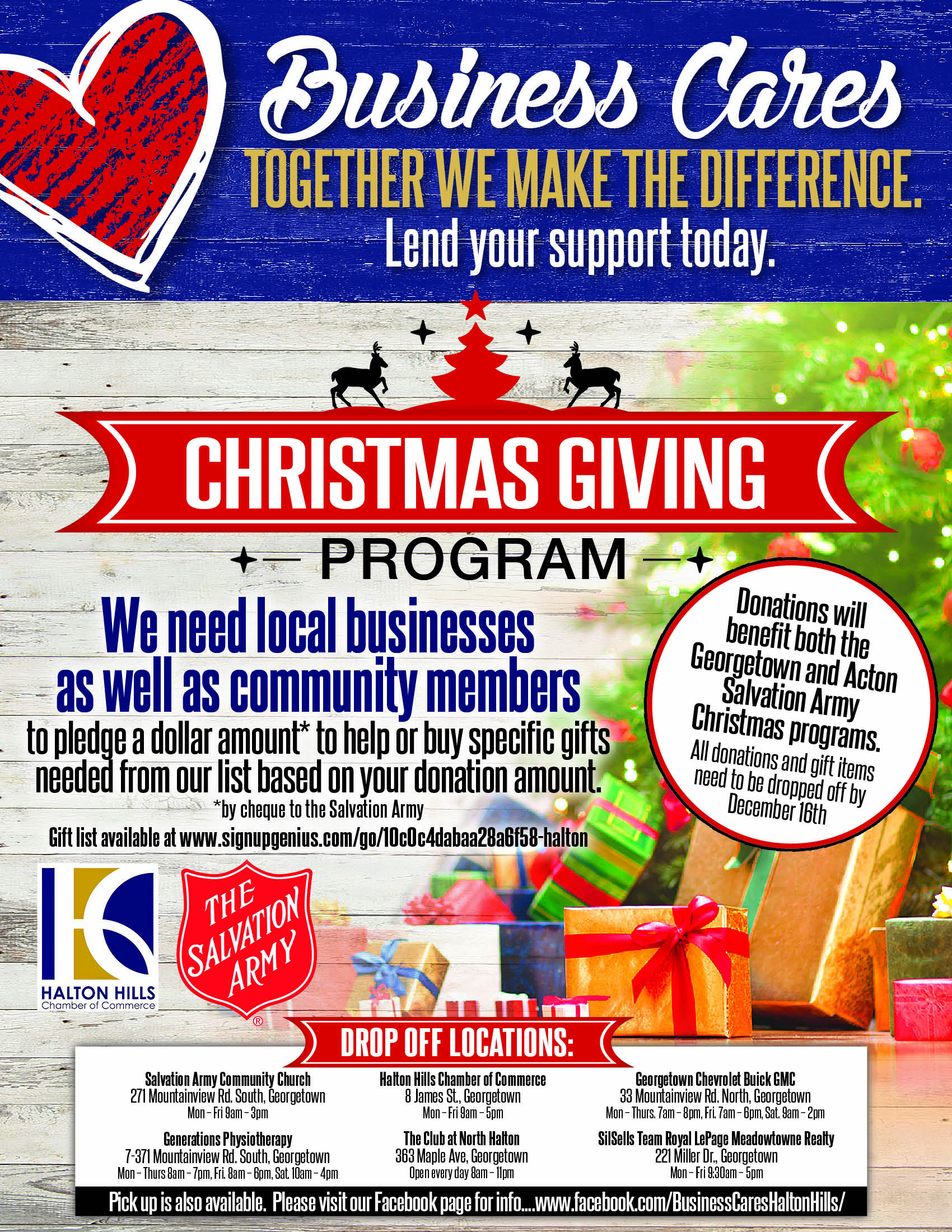 Business Cares Hamper Program