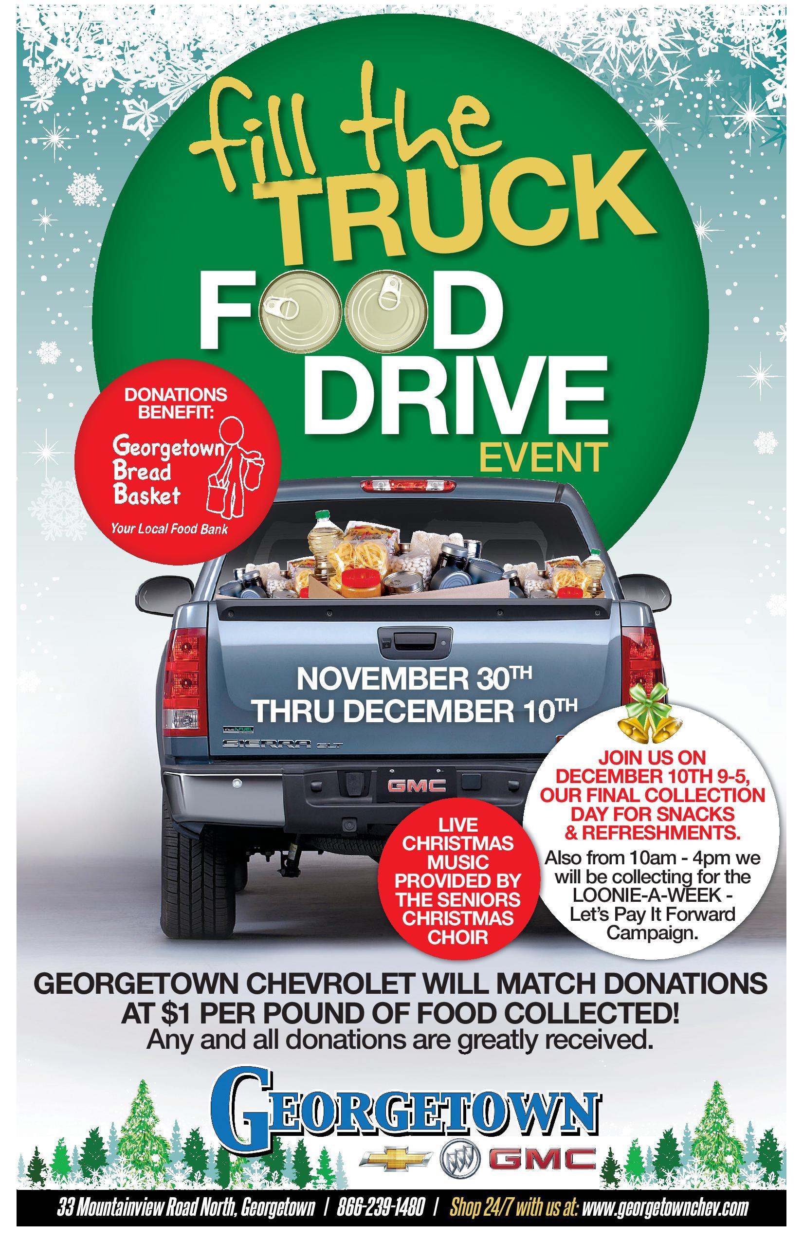 Georgetown Food Drive 2016