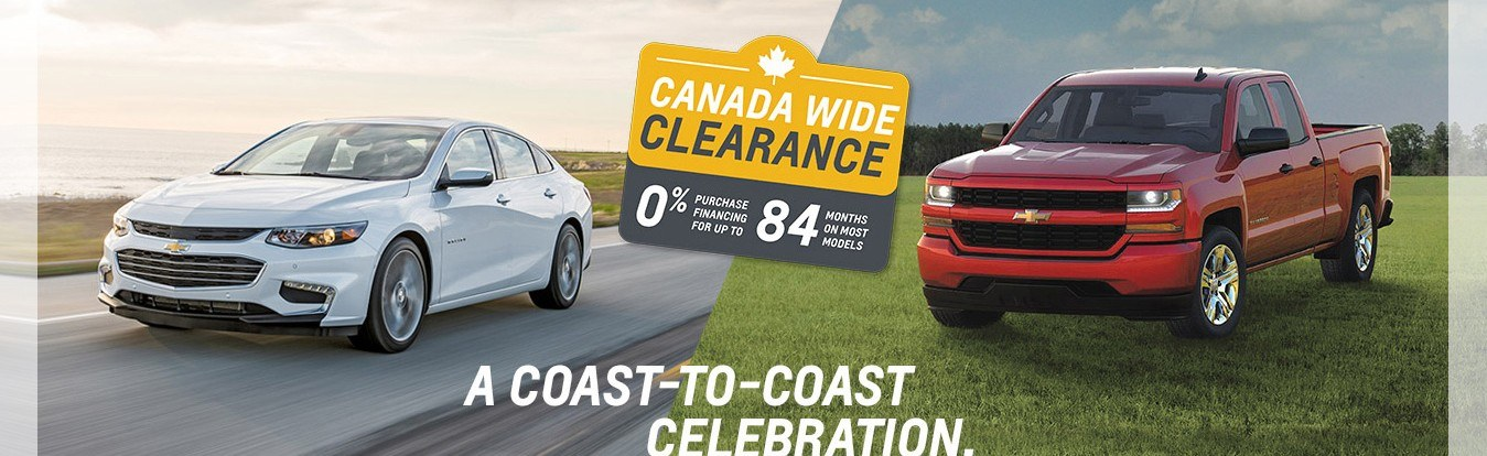 Get great lease and finance offers on new Chevrolet cars, trucks and SUVs in Georgetown Ontario from Georgetown Chevrolet Buick GMC