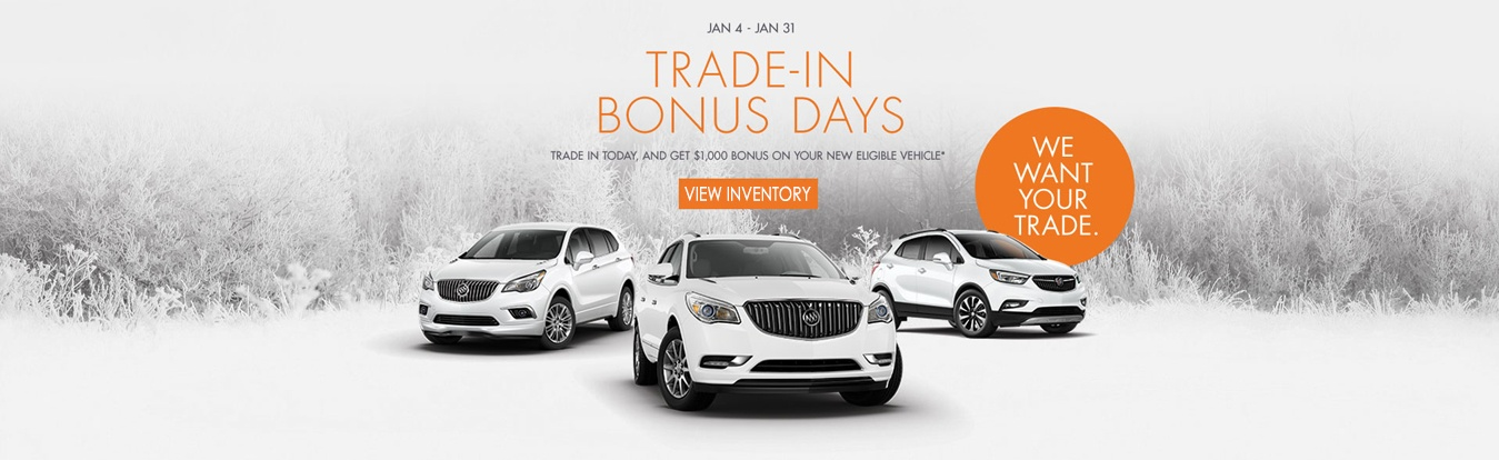 Buick trade in Bonus Days at Georgetown Chevrolet Buick GMC