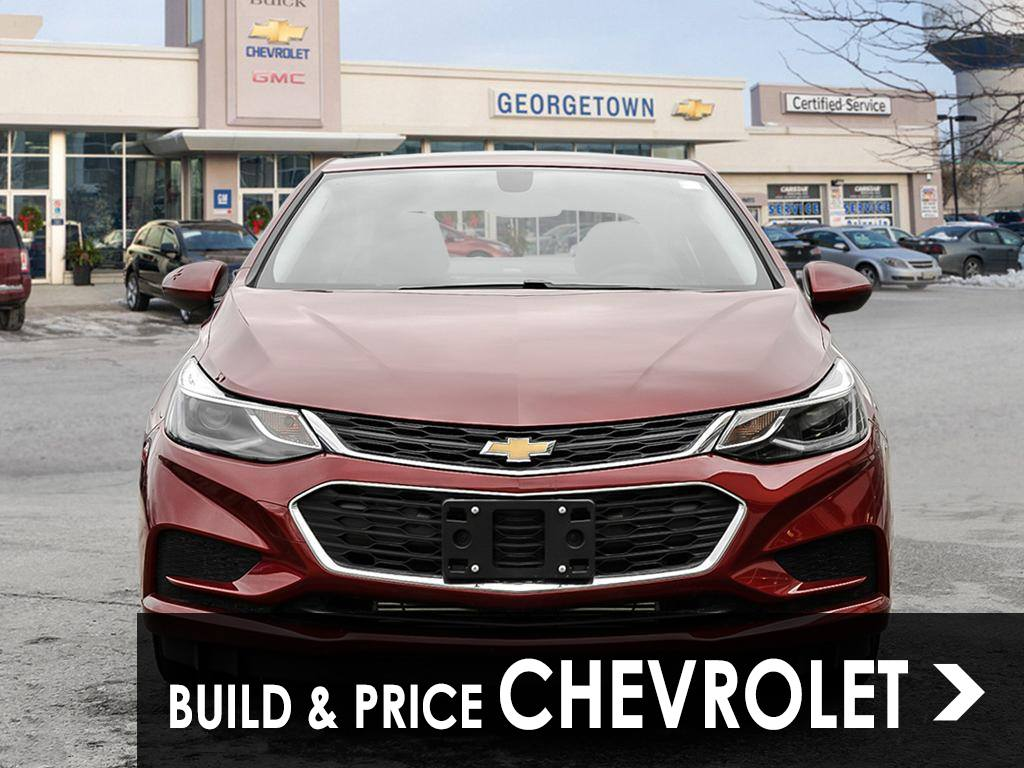 Build and price your new Chevrolet in Georgetown