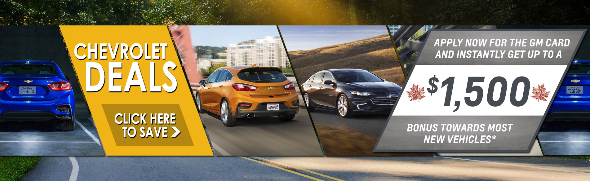 Great deals on new Chevrolet cars, trucks and SUVs in Georgetown Ontario at Georgetown Chevrolet