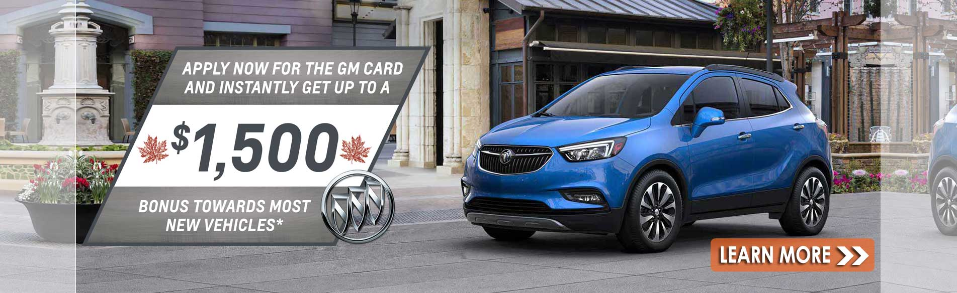 Great deals on new Buick cars and SUVs in Georgetown Ontario at Georgetown Buick