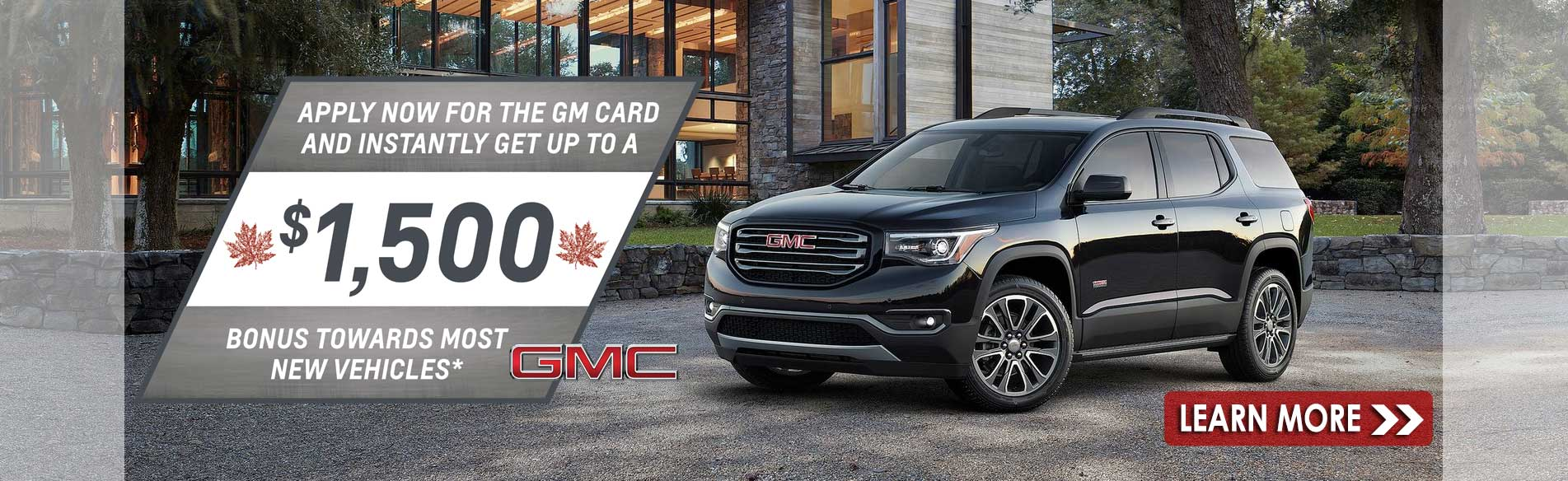 Great deals on new GMC trucks and SUVs in Georgetown Ontario at Georgetown GMC