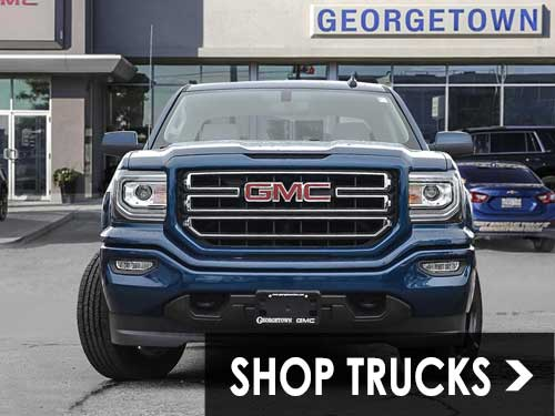 Shop new Chevrolet, GMC pickup trucks in Georgetown