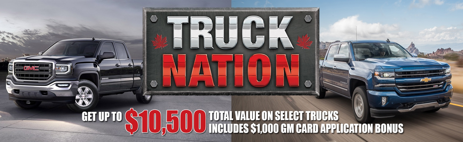 Georgetown Chevrolet GMC Truck Nation event with great deals on Chevrolet Silverado and GMC Sierra in Georgetown Ontario
