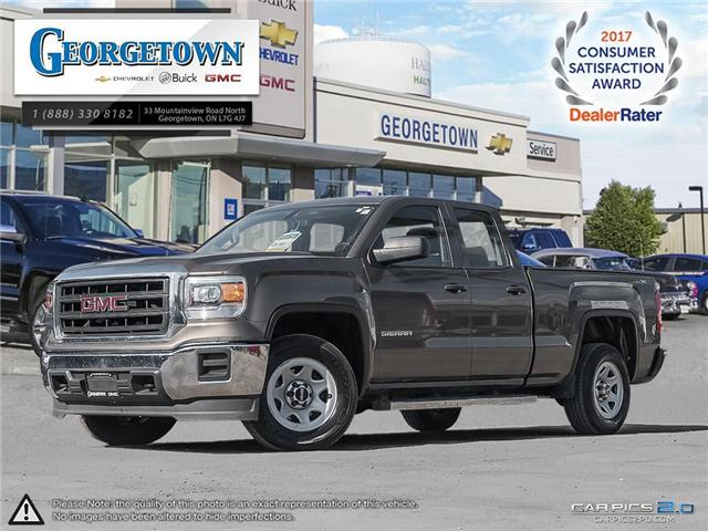 Used 2014 GMC Sierra Double Cab 4x4 in Georgetown Ontario at Used Car Clearance prices from Georgetown Chevrolet Buick GMC