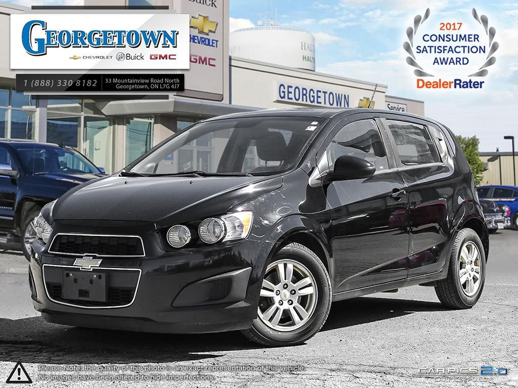 Used 2012 Chevrolet Sonic LS Hatchback in Georgetown Ontario at Used Car Clearance prices from Georgetown Chevrolet