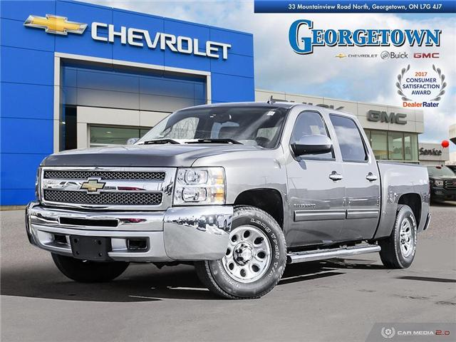 Used 2012 Chevrolet Silverado 1500 LS Crew Cab 4x4 in Georgetown Ontario at Used Car Clearance prices from Georgetown Chevrolet