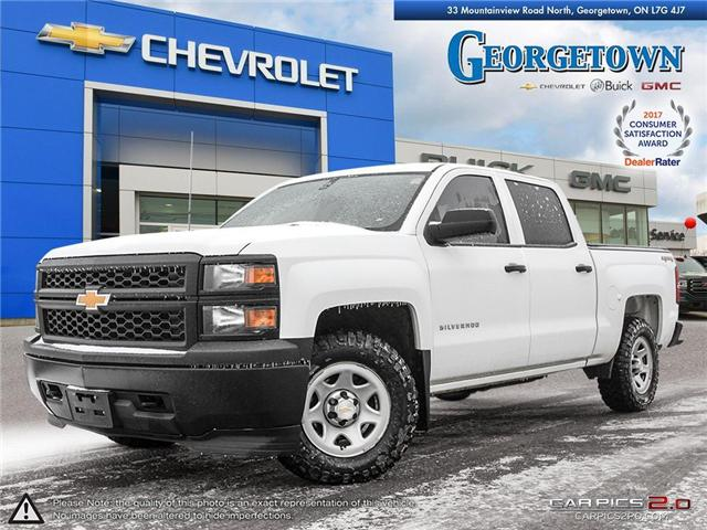 Used 2014 Chevrolet Silverado 1500 WT Crew Cab 4x4 in Georgetown Ontario at Used Car Clearance prices from Georgetown Chevrolet