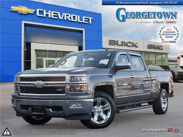 Used 2014 Chevrolet Silverado LTZ Crew Cab 4x4 in Georgetown Ontario at Used Car Clearance prices from Georgetown Chevrolet