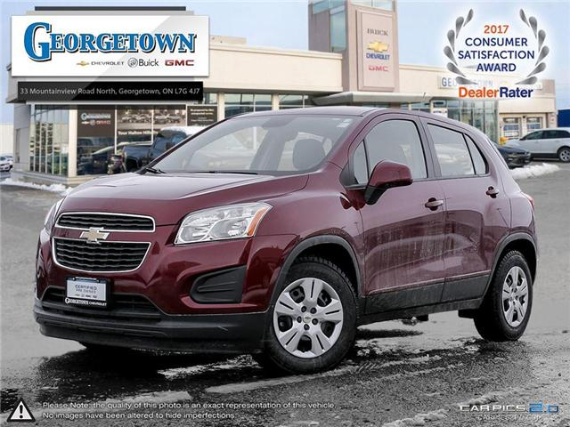 Used 2015 Chevrolet Trax LS FWD in Georgetown Ontario at Used Car Clearance prices from Georgetown Chevrolet