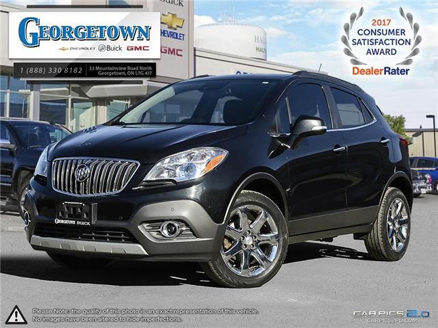 Used 2014 Buick Encore Premium AWD in Georgetown Ontario at Used Car Clearance prices from Georgetown Chevrolet Buick GMC