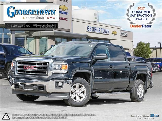 Used 2015 GMC Sierra SLE Crew Cab 4x4 in Georgetown Ontario at Used Car Clearance prices from Georgetown Chevrolet Buick GMC