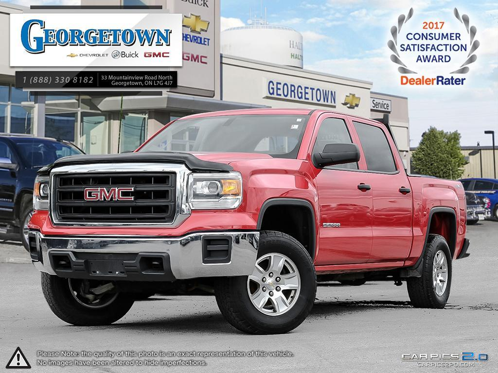 Used 2014 GMC Sierra 1500 Crew Cab 4x4 in Georgetown Ontario at Used Truck Clearance prices from Georgetown Chevrolet