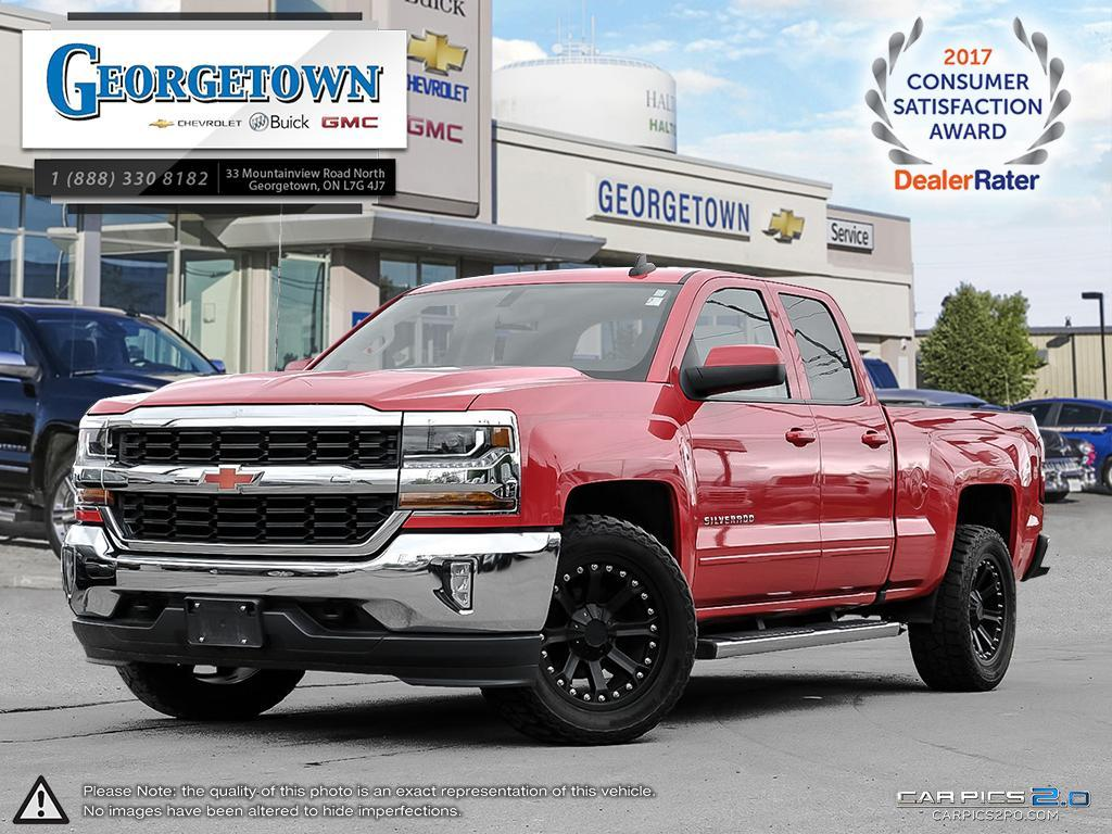 Used 2016 Chevrolet Silverado LT Double Cab 4x4 in Georgetown Ontario at Used Truck Clearance prices from Georgetown Chevrolet