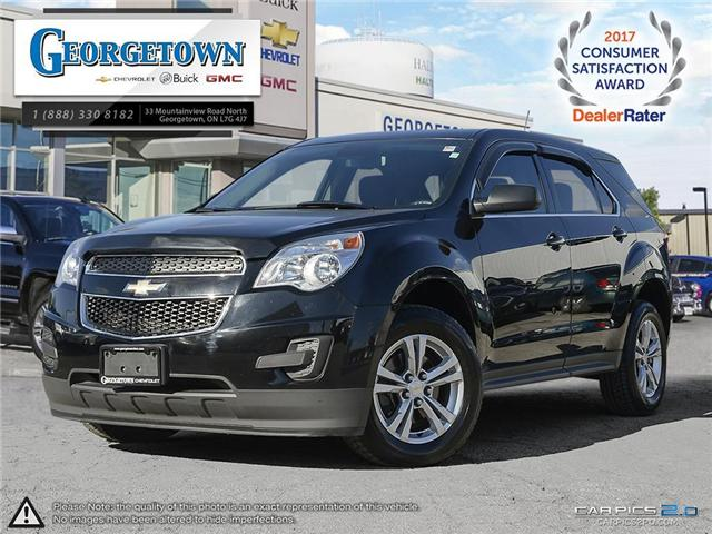 Used 2013 Chevrolet Equinox LS FWD in Georgetown Ontario at Used Car Clearance prices from Georgetown Chevrolet