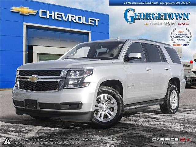 Used 2016 Chevrolet Tahoe LS 4x4 in Georgetown Ontario at Used Car Clearance prices from Georgetown Chevrolet Buick GMC