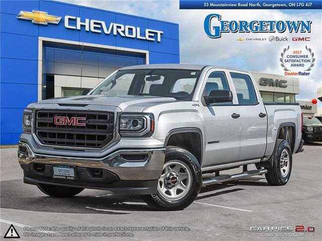 Used 2017 GMC Sierra Crew Cab 4x4 in Georgetown Ontario at Used Car Clearance prices from Georgetown Chevrolet Buick GMC