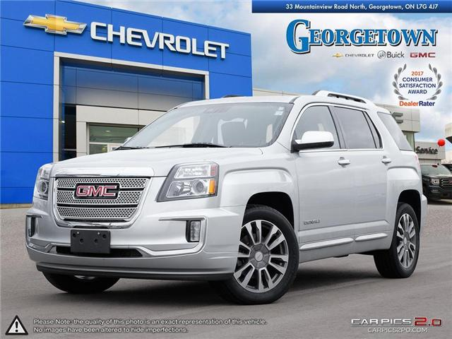 Used 2017 GMC Terrain Denali AWD in Georgetown Ontario at Used Car Clearance prices from Georgetown Chevrolet Buick GMC