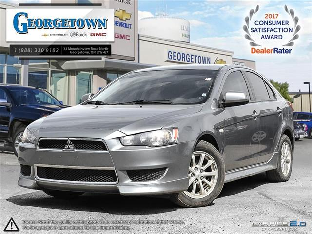 Used 2012 Mitsubishi Lancer SportBack ES in Georgetown Ontario at Used Car Clearance prices from Georgetown Chevrolet Buick GMC