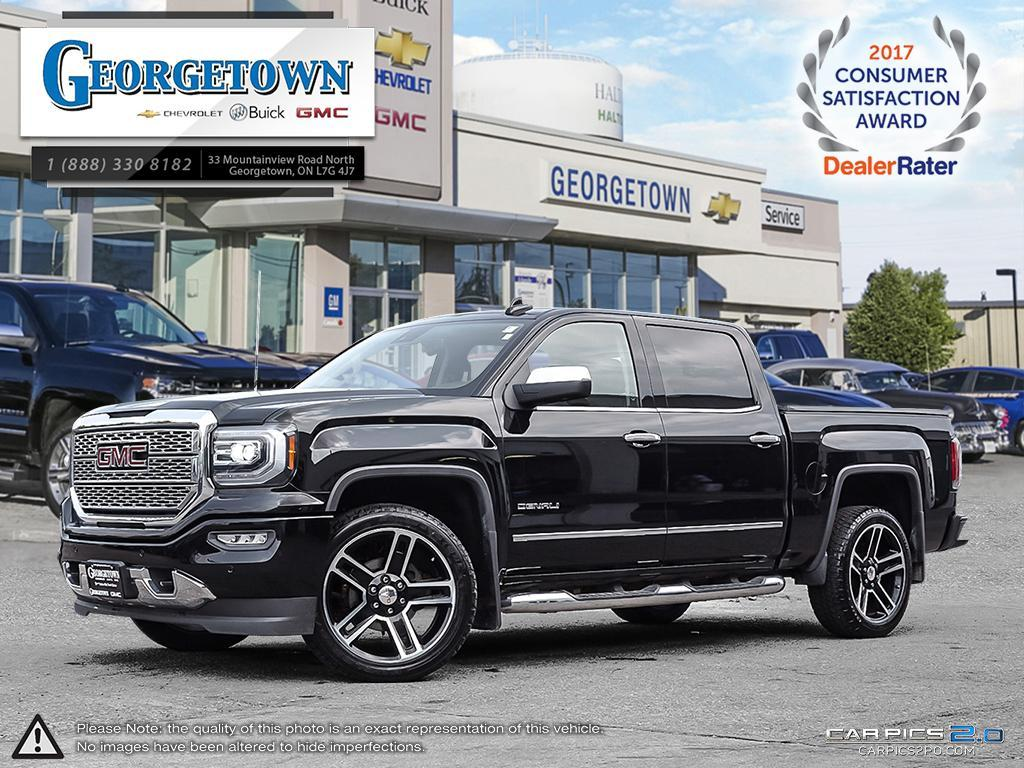 Used 2016 GMC Sierra Denali Crew Cab 4x4 in Georgetown Ontario at Used Car Clearance prices from Georgetown Chevrolet Buick GMC