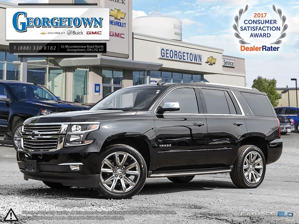 Used 2016 Chevrolet Tahoe 4x4 in Georgetown Ontario at Used Car Clearance prices from Georgetown Chevrolet