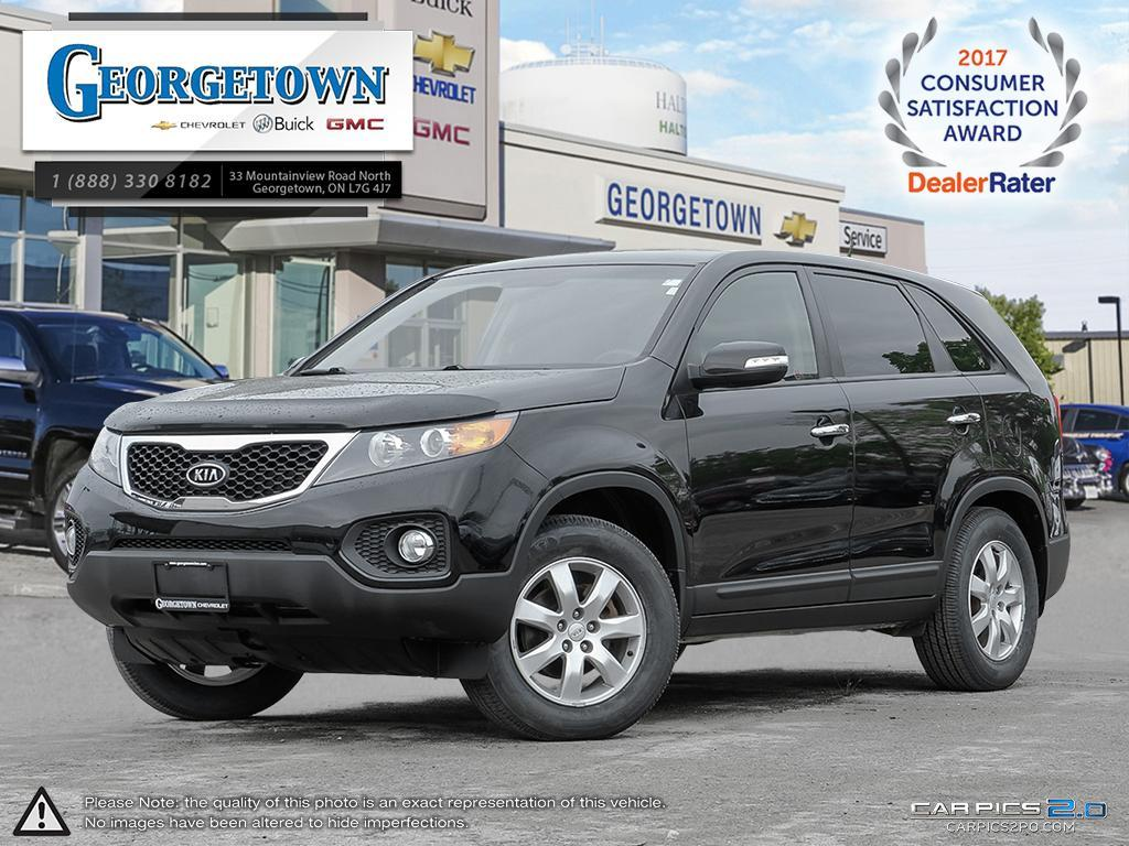Used 2011 Kia Sorento LX in Georgetown Ontario at Used Car Clearance prices from Georgetown Chevrolet Buick GMC