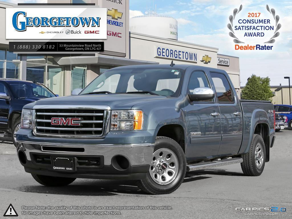 Used 2013 GMC Sierra 1500 SL Crew Cab 4x4 in Georgetown Ontario at Used Car Clearance prices from Georgetown Chevrolet Buick GMC