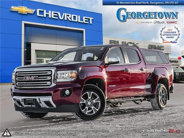 Used 2017 GMC Canyon SLT Crew Cab 4x4 in Georgetown Ontario at Used Car Clearance prices from Georgetown Chevrolet Buick GMC