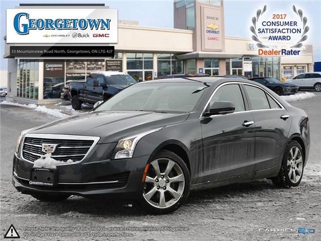 Used 2015 Cadillac ATS Luxury in Georgetown Ontario at Used Car Clearance prices from Georgetown Chevrolet