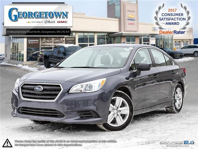 Used 2015 Subaru Legacy 2.5L in Georgetown Ontario at Used Car Clearance prices from Georgetown Chevrolet