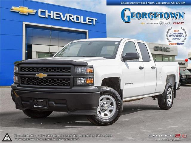 Used 2014 Chevrolet Silverado 1500 WT Double Cab 4x2 in Georgetown Ontario at Used Car Clearance prices from Georgetown Chevrolet