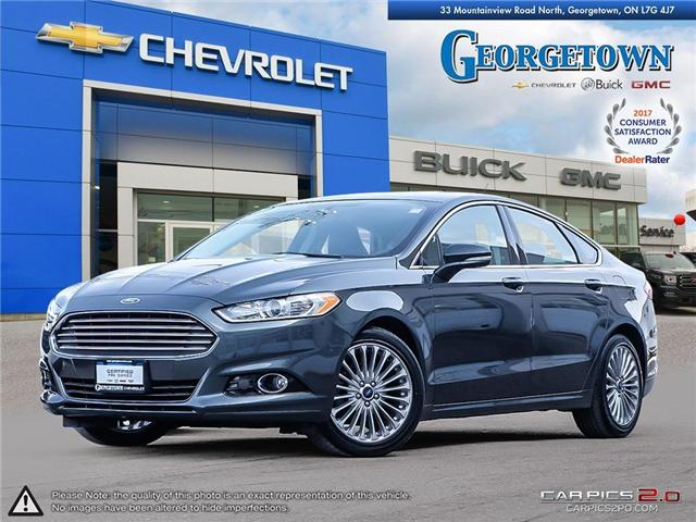Used 2016 Ford Fusion Titanium AWD in Georgetown Ontario at Used Car Clearance prices from Georgetown Chevrolet Buick GMC