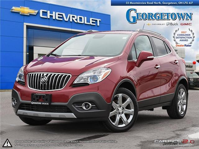 Used 2014 Buick Encore CXL in Georgetown Ontario at Used Car Clearance prices from Georgetown Chevrolet Buick GMC