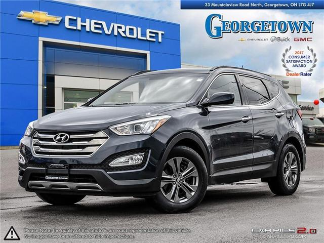 Used 2013 Hyundai Santa Fe Sport in Georgetown Ontario at Used Car Clearance prices from Georgetown Chevrolet