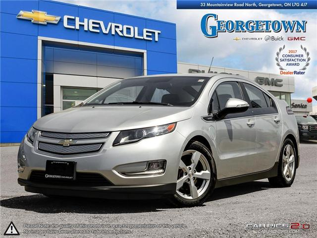 Used 2013 Chevrolet Volt in Georgetown Ontario at Used Car Clearance prices from Georgetown Chevrolet