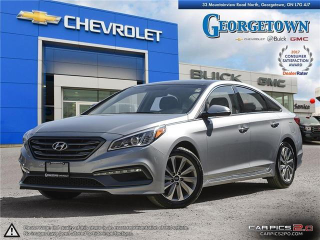 Used 2015 Hyundai Sonata Sport in Georgetown Ontario at Used Car Clearance prices from Georgetown Chevrolet Buick GMC