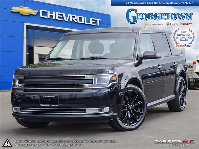Used 2018 Ford Flex Limited in Georgetown Ontario at Used Car Clearance prices from Georgetown Chevrolet Buick GMC