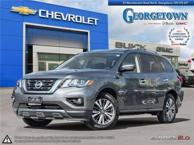 Used 2017 Nissan Pathfinder SV in Georgetown ontario at Used Car Clearance prices from Georgetown Chevrolet Buick GMC