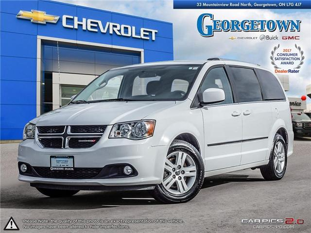 Used 2017 Dodge Grand Caravan Crew in Georgetown Ontario at Used Car Clearance prices from Georgetown Chevrolet Buick GMC