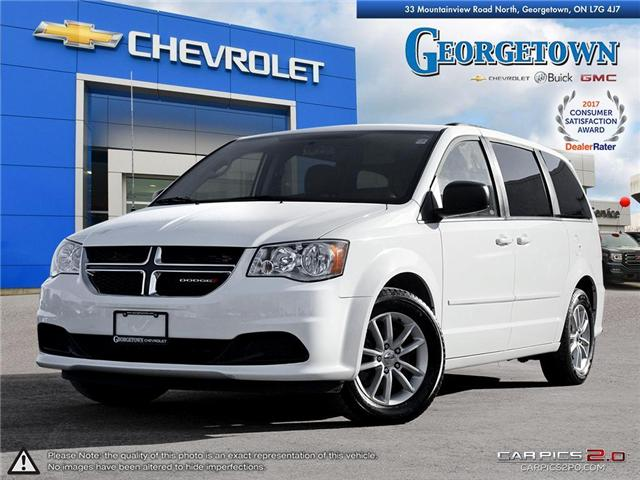 Used 2014 Dodge Grand Caravan SXT in Georgetown Ontario at Used Car Clearance prices from Georgetown Chevrolet