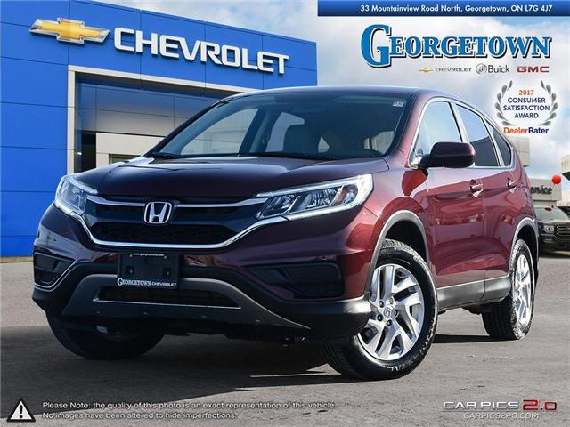 Used 2015 Honda CR-V in Georgetown Ontario at Used Car Clearance prices from Georgetown Chevrolet Buick GMC