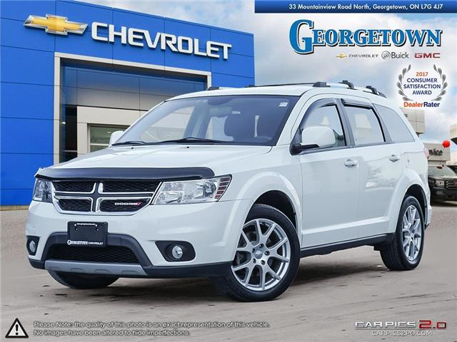 Used 2014 Dodge Journey SXT in Georgetown Ontario at Used Car Clearance prices from Georgetown Chevrolet