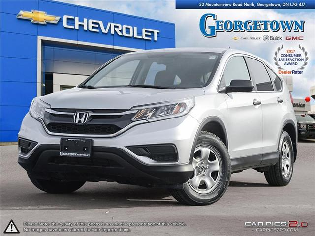Used 2016 Honda CR-V LX in Georgetown Ontario at Used Car Clearance prices from Georgetown Chevrolet