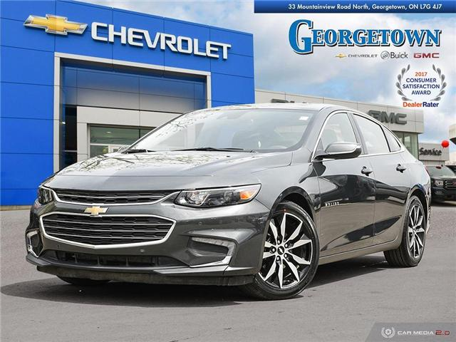 Used 2018 Chevrolet Malibu LT in Georgetown Ontario at Used Car Clearance prices from Georgetown Chevrolet