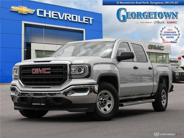 Used 2017 GMC Sierra Crew Cab 4x2 in Georgetown Ontario at Used Car Clearance prices from Georgetown Chevrolet Buick GMC