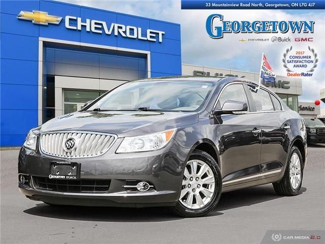 Used 2012 Buick Lacrosse CXL in Georgetown Ontario at Used Car Clearance prices from Georgetown Chevrolet Buick GMC